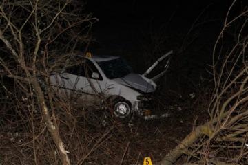 Vozač poginuo nakon sletanja s ceste