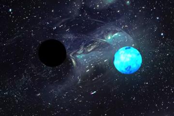 Prvi puta zabilježeno kako crna rupa guta neutronsku zvijezdu