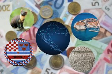 Predstavljeni i predloženi motivi za hrvatsku kovanicu Eura
