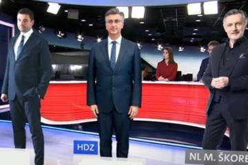 Crobarometar: HDZ se vratio na prvo mjesto, Plenkoviću skočila popularnost