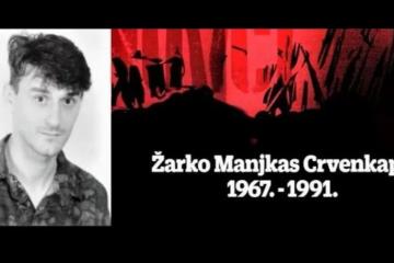 Na današnji dan 1991. poginuo heroj Domovinskog rata Žarko Manjkas Crvenkapa