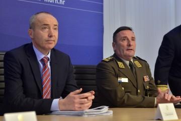 Ministar Krstičević i general Šundov izrazili sućut obitelji poginulog vojnog policajca