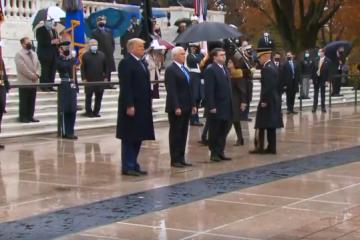 Trump i Biden odvojeno obilježili Dan veterana