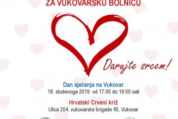 Akcija darivanja krvi za Vukovarsku bolnicu