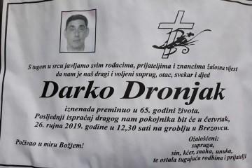 Posljednji pozdrav ratniku - Darko Dronjak