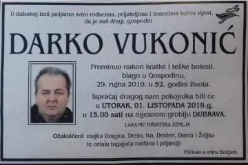 Posljednji pozdrav ratniku - Darko Vukonić
