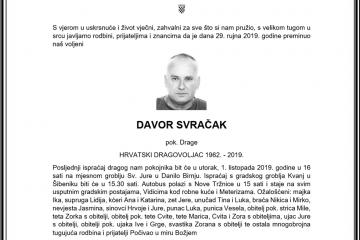 Posljednji pozdrav ratniku - Davor Svračak