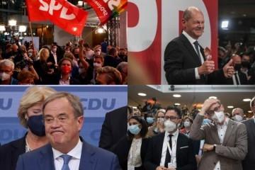 Stigli prvi neslužbeni rezultati njemačkih izbora: Utrka gotovo izjednačena, SPD tvrdi da ima novog kancelara, CDU/CSU priznali da nisu zadovoljni rezultatima