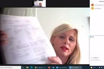Dijana Zadravec na saslušanju u Saboru: Objasnila kako je, po njenim saznanjima, koruptivna hobotnica izvlačila novac iz bolnice