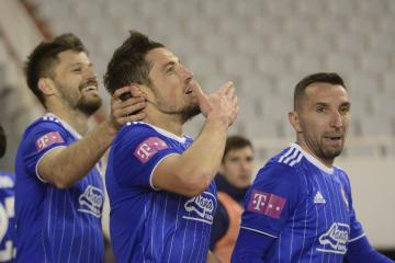 Dinamo s igračem više pobjedio Hajduk na Poljudu