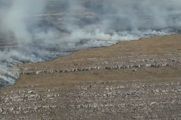 Na Dinari izgorjelo oko 2000 hektara niskog trave i raslinja