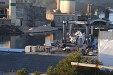 KATASTROFA U PULI! S DIZALICE PAO NOV NOVCAT BROD! Direktorica brodogradilišta potresena: 'Oprostite, ne mogu ni pričati'!