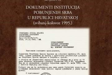 """Srpski teroristi znali su za 'Oluju' - 8 dana prije ove operacije proglasili su ratno stanje na cijelom području """"RSK"""""""