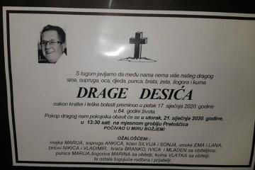 Posljednji pozdrav ratniku - Drago Desić