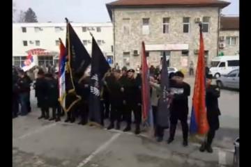 10. ožujka 2019. Višegrad – na mjestu genocida krvnici u četničkim odorama slavili Dražu Mihailovića
