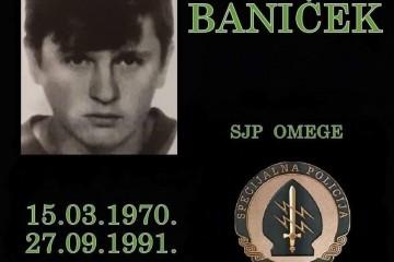 Dražen Baniček (15. ožujka 1970. - 27. rujna 1991.)