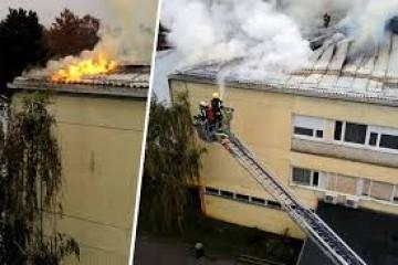Policija izvijestila: 'Požar u školi u Dubravi je podmetnut, netko je htio time prikriti provalu!'
