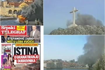 SKANDALOZNO! SRPSKI MEDIJ IZNIO HRPU LAŽI U SVOJOJ 'ISTINI O GRANATIRANJU DUBROVNIKA': 'Hrvatski branitelji izazvali su napad na grad, JNA se ponašala krajnje suzdržano!'!'