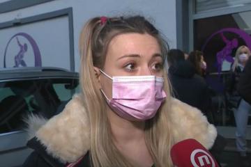 """Kći uhićenog vlasnika teretane: """"Nadam se da će ga sutra pustiti. Jutros sam došla podržati svog oca, te i dalje stojim iza toga"""""""