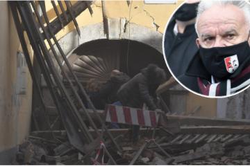 "Potreseni gradonačelnik Petrinje: ""Vozim se kroz grad, a moga grada nema. Moj grad je uništen…"""