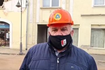 Darinko Dumbović: 'Svi su na rubu strpljivosti. Danas u Petrinji nitko više nije normalan'