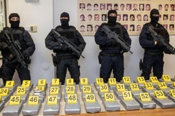 Dubrovačka policija zaplijenila nekoliko stotina kilograma kokaina