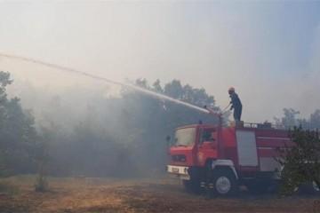 Požar kod Oklaja još uvijek aktivan: Gori površina od 370 hektara