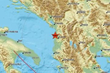Novi potres snage 4,3 stupnja po Richteru zatresao Albaniju