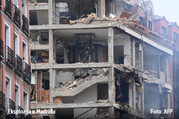 Snažna eksplozija odjeknula u Madridu: Najmanje dvoje mrtvih, raznesena četiri kata zgrade