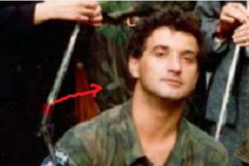SMRT OD SNAJPERSKOG METKA U GLAVU: Švico je prvi poginuli HOS-ovac u Vukovaru