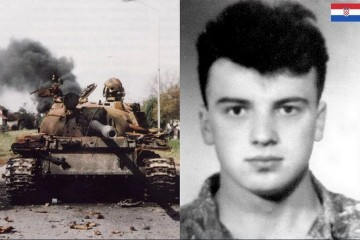 Željko Kucjenić Kuca - Prvi Brođanin koji je poginuo 26. kolovoza 1991. godine u Vukovaru