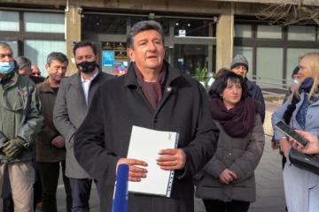 Hrvatski suverenisti se protive prijedlogu Zakona o cilvilnim stradalnicima, Sačić: Ako treba postavit ćemo i šator ispred Ministarstva hrvatskih branitelja