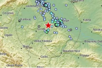 Novi potres jačine 3,0 prema Richteru kod Siska: 'Čulo se kao eksplozija pa zatreslo zgradu'