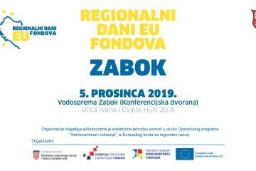 """""""Regionalni dani EU fondova"""" u Zaboku"""
