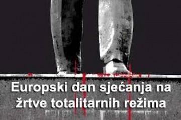 Sjećanje da, a odgovornost i kazna za zločince, ne? Europski dan sjećanja na žrtve totalitarnih režima, fašizma, nacizma i komunizma