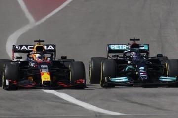 Max Verstappen brži od Lewisa Hamiltona u dramatičnoj završnici utrke u Teksasu; sad ima 12 bodova prednosti u borbi za titulu prvaka