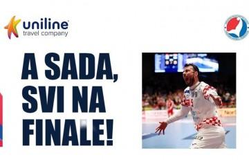 Uniline organizira charter za navijače koji žele gledati finale