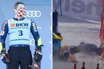Zubo o teškom padu američkog skijaša: Samo su mi rekli - stop! Pokušavao sam se smiriti...