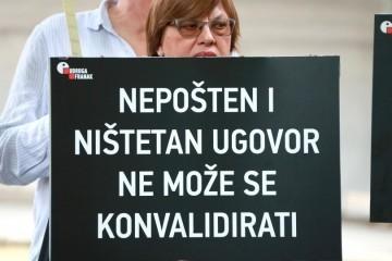 Prva pravomoćna presuda protiv banke zbog švicaraca, klijentu moraju vratiti 187.000 kuna
