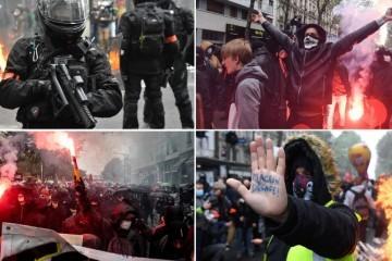 Potpuni kaos u Francuskoj, organizirano čak 300 prosvjeda: 'Dosta nam je preživljavanja!