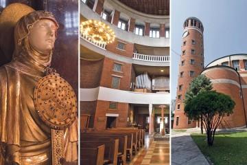 (Video) Sakralni dragulj posvećen sv. Antunu Padovanskom s kosim tornjem