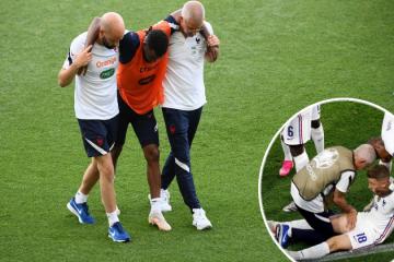 Francuska reprezentacija uoči osmine finala Eura doživjela je strašan udarac; u samo dva dana 'tricolori' su ostali bez čak pet igrača