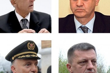 Četvorica generala u mirovini: Nacionalna sramota u hrvatskome glavnom gradu