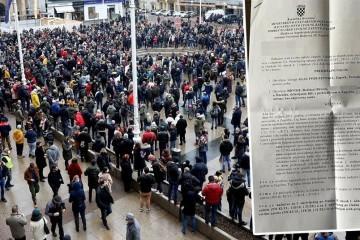 Glas poduzetnika zbog prosvjeda mora platiti 20.000, a Bujas 10.000 kn: 'A što je s Markotić?'