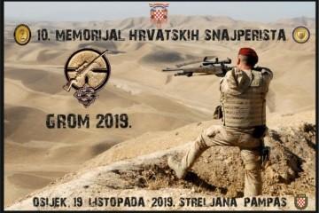 (FOTO) GROM – memorijal hrvatskih snajperista: 'Želimo da se žar koji su hrvatski vojnici nosili kroz Domovinski rat prenosi dalje'