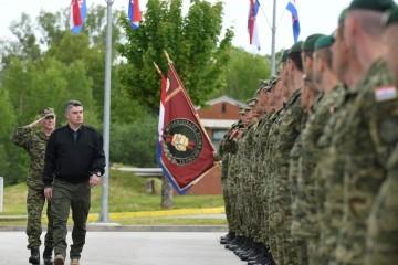 Predsjednik Milanović poručio Gromovima: Pri odlasku Hrvatske vojske u međunarodne misije uvijek ćemo voditi računa o hrvatskim interesima