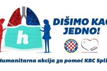 """Hajduk i """"Bilo srce"""" pomažu KBC-u Split u borbi protiv koronavirusa"""