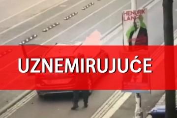 Iskočio je iz auta i zapucao po ljudima! Objavljena snimka napada u Njemačkoj