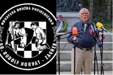 HDP 'Dr. Rudolf Horvat' Mesiću: 'Na temu Jasenovca je sam sebe optužio za laž'