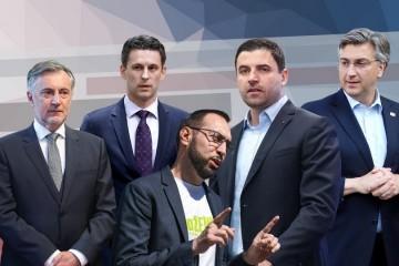 Prvi rezultati izbora: HDZ ima nedostižnu prednost, debakl Restart koalicije, u Sabor ulaze još Škoro, Most, Možemo i koalicija centra